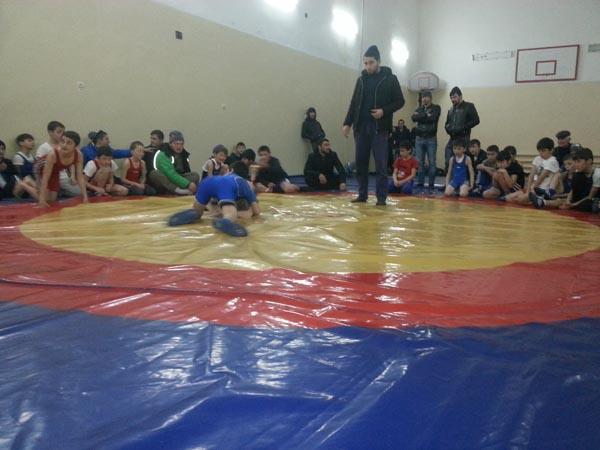 Внутришкольный турнир по вольной борьбе, приуроченный ко Дню защитника Отечества