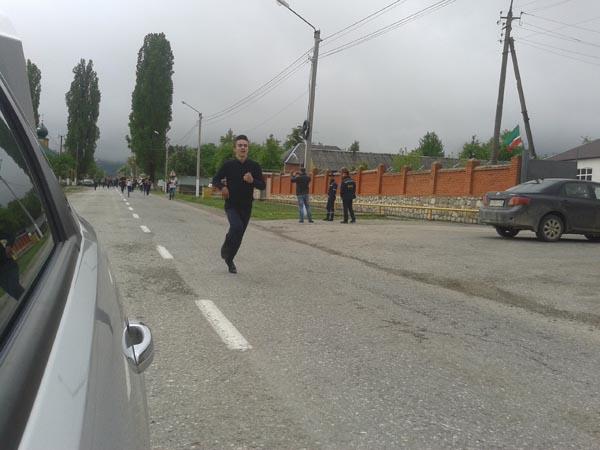Беговой марафон, приуроченный ко Дню победы в Великой Отечественной Войне