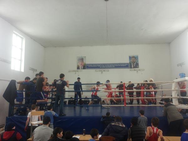 Районный турнир по боксу, приуроченный ко Дню Героев Отечества