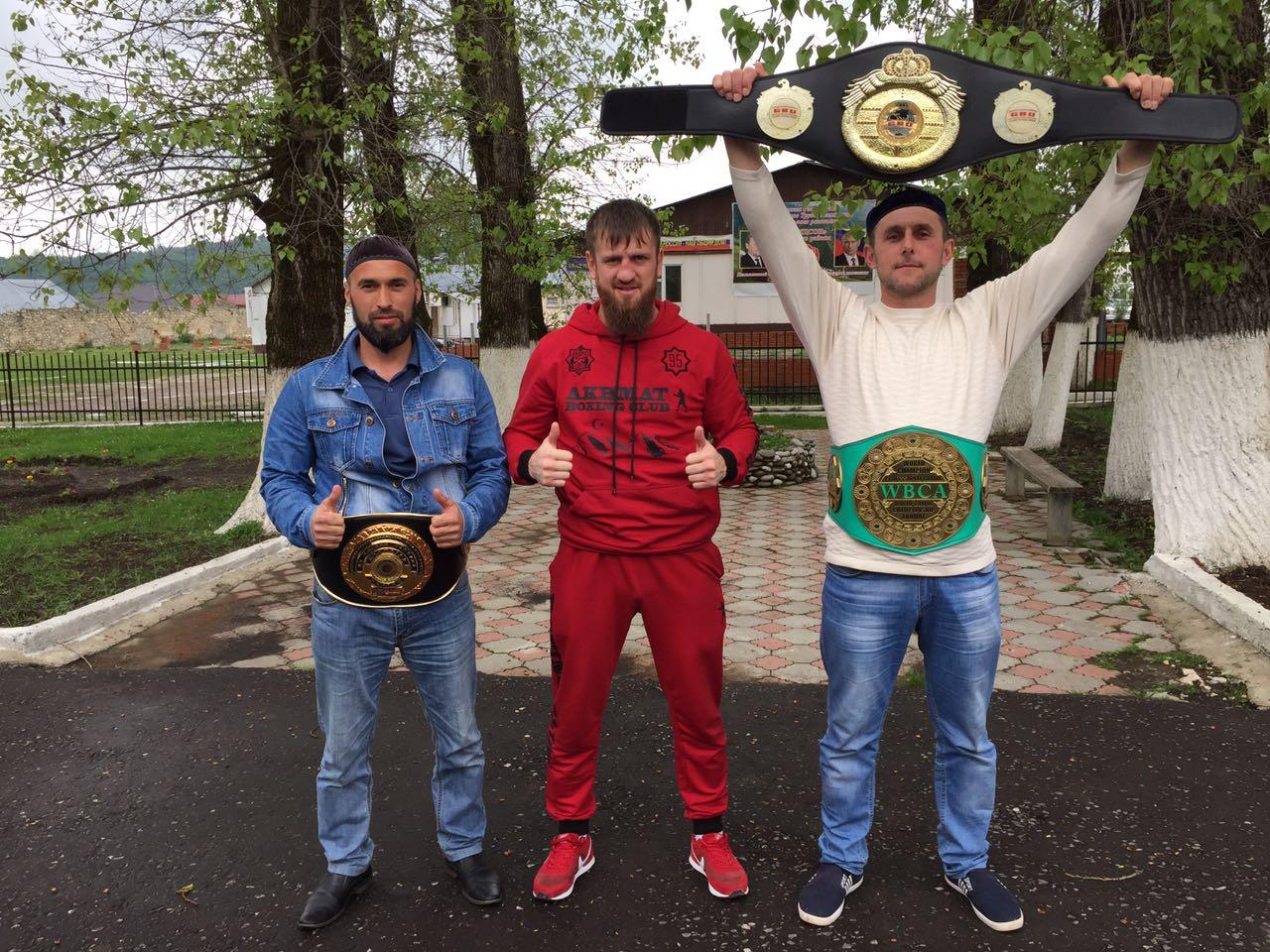 Успехи нашего тренера-преподавателя по боксу Юсупова М.М.
