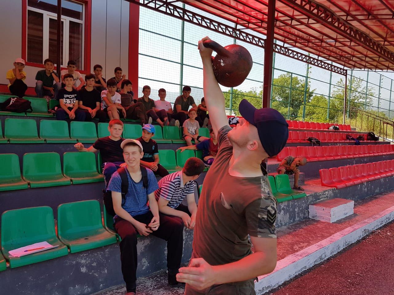 Всероссийский Олимпийский день в ДЮСШ Веденского района